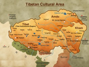 Tibet-Travel-Map