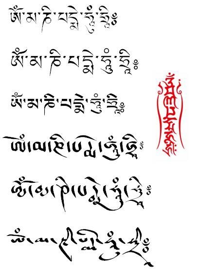 pismo tybetańskie