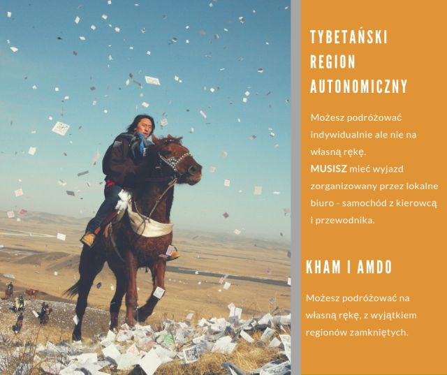 Regulacje dotyczące podróżowania po Tybecie
