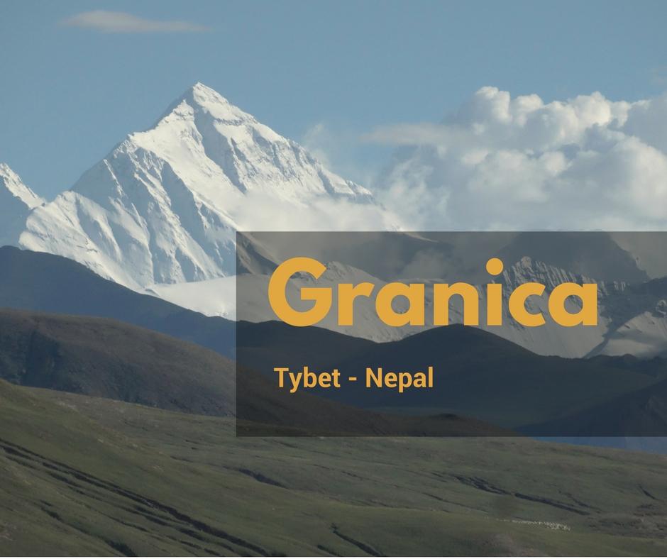 Tybet. Granica z Nepalem