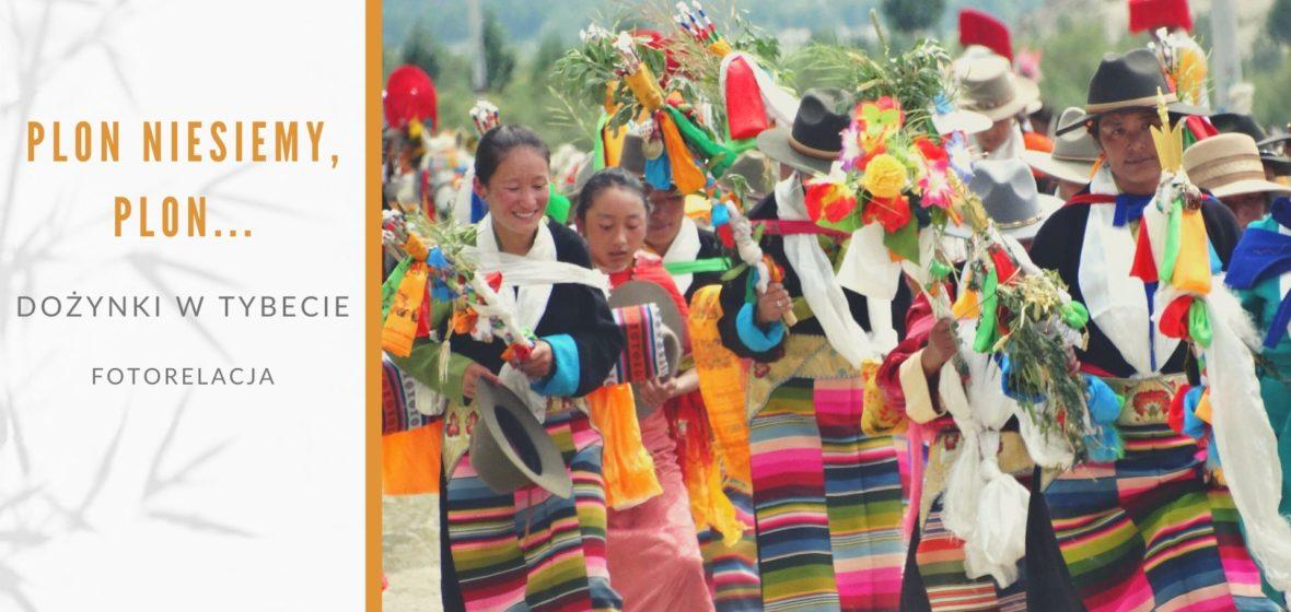Plon niesiemy plon, czyli dożynki w Tybecie