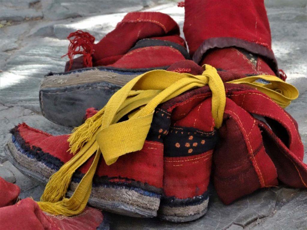Tybet moda na dachu świata
