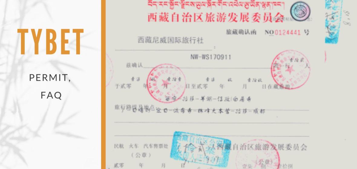 PERMIT FAQ, czyli wszystko, co chcielibyście wiedzieć o pozwoleniu na wjazd do Tybetu, ale baliście się zapytać…