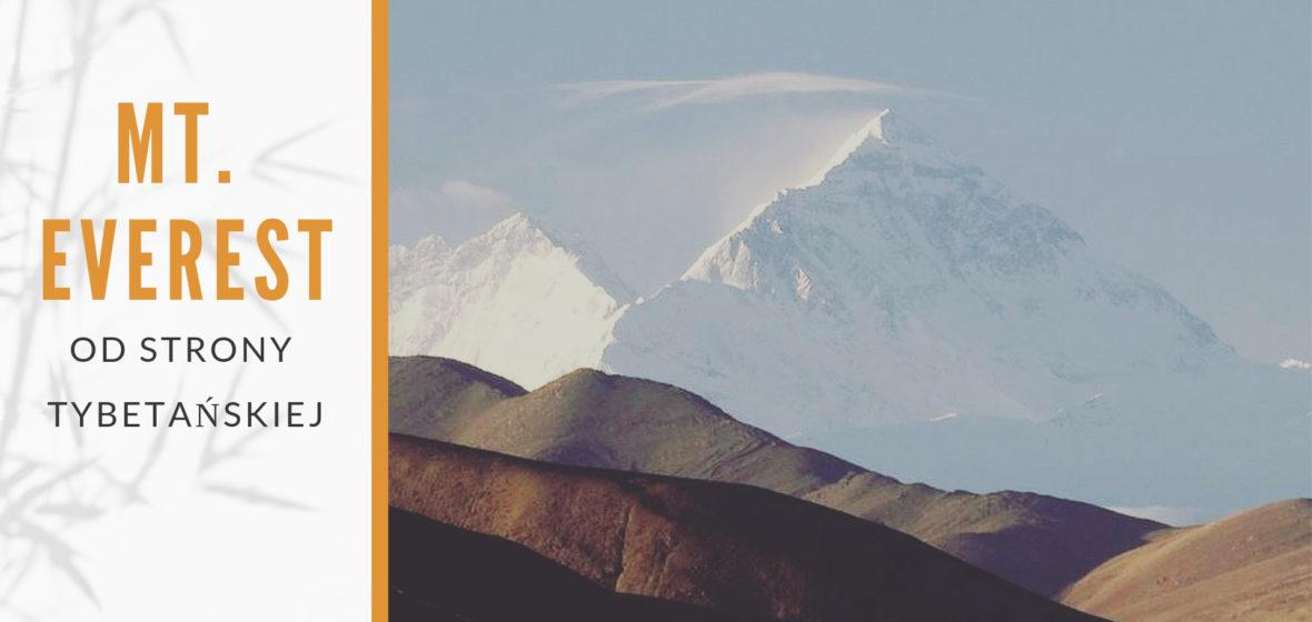Baza pod Mt. Everestem od strony tybetańskiej