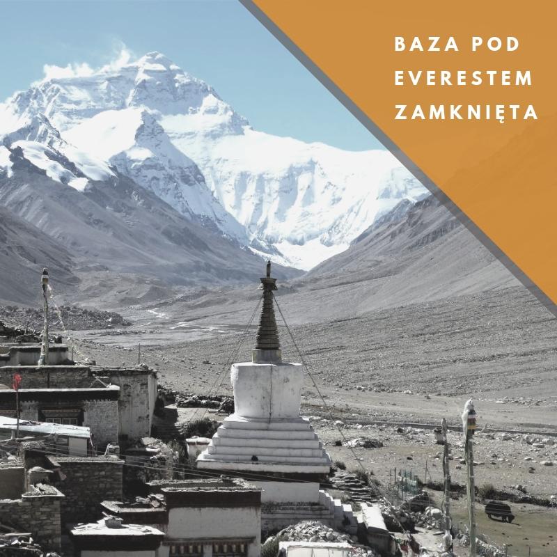 baza po Everestem zamknięta do odwołania