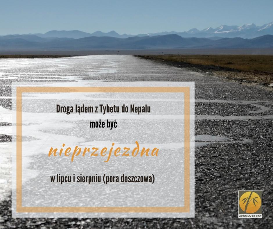 podróż lądem z Tybetu do Nepalu
