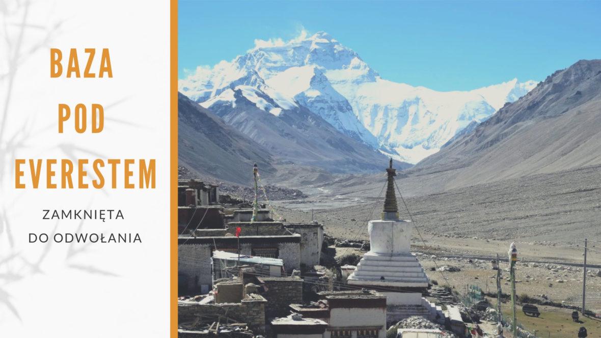 Baza pod Everestem zamknięta do Odwołania