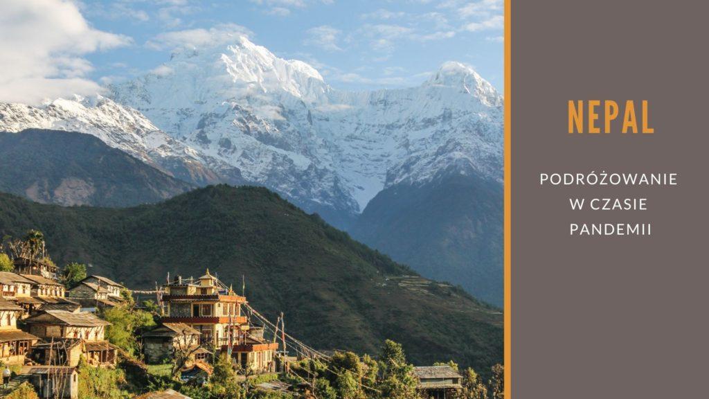 podróżowanie po Nepalu czasie COVIDu